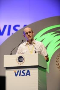 Business blog writer and public speaker Karl Craig-West