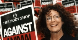 ideas on starting a business anita roddick