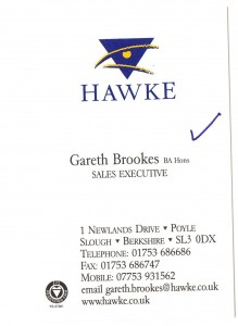 what should be on a business card example 2